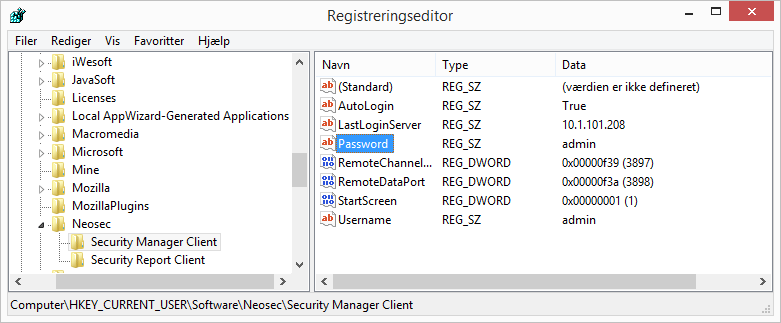 Autologin Manager